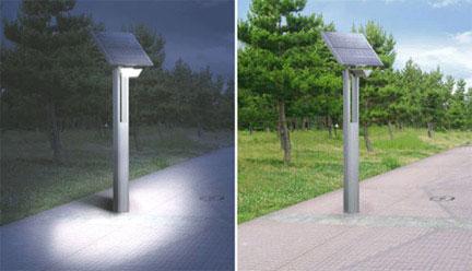 lampione, fotovoltaico
