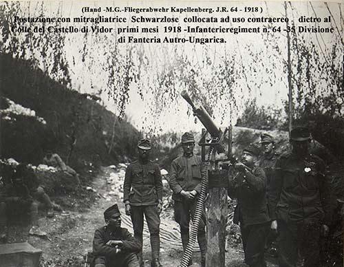 prima guerra mondiale, vidor, caporetto