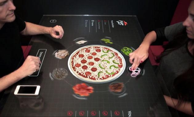 touch screen, tavolo,