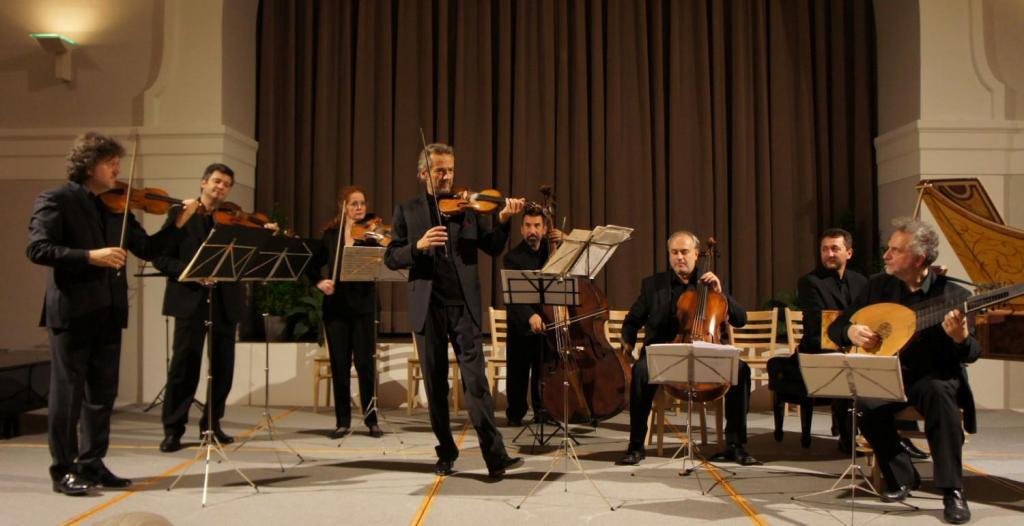 Violinista in concerto