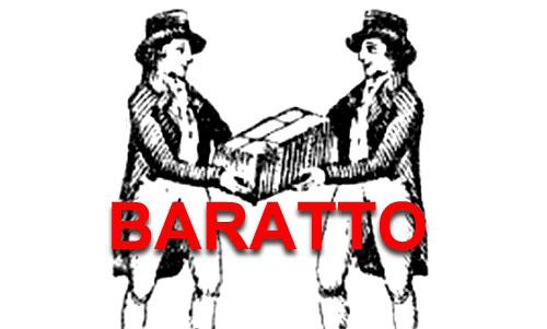 Baratto, scambio.