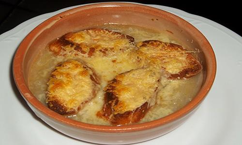 zuppa di cipolle, ricetta