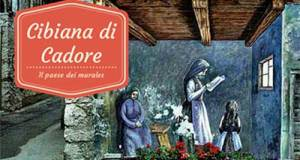 cibiana, cadore, murales