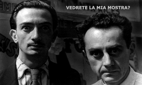 Man-Ray e Salvador Dali