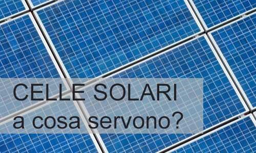 celle solari, fotovoltaico