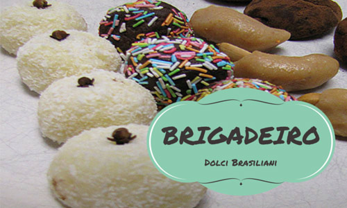 brigadeiro, ricette, dolci, brasile