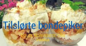dolce, norvegia, panna, dessert