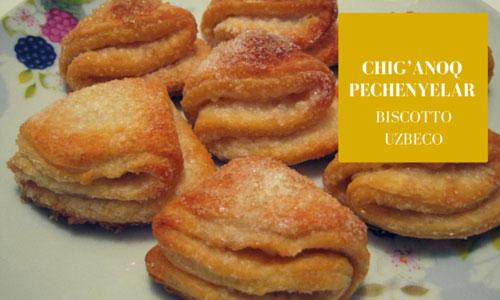 ricetta, biscotti, uzbekistan
