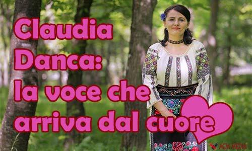 claudia danca, cantante, romania