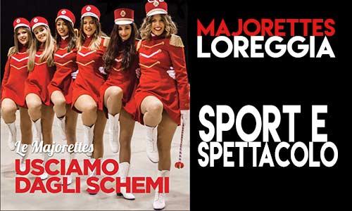 majorettes, loreggia, sport