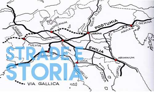 via gallica, tracciato