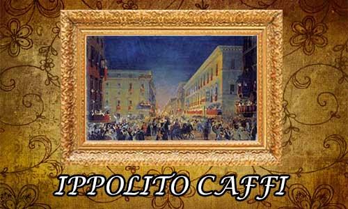 ippolito caffi, pittore