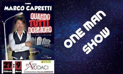 Teatro, Roma, Marco, Capretti