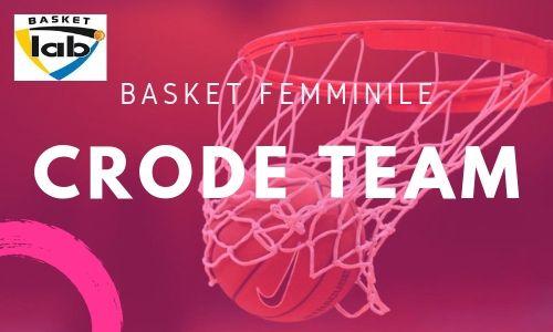 CRODE TEAM basket femminile