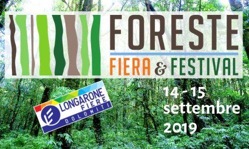 Fiera e festival Foreste 2019 Longarone