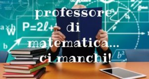 Matematica professore insegnante