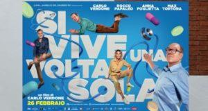 Carlo Verdone nuovo film Si vive una volta sola