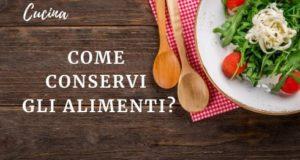 Il freddo conservazione alimentare