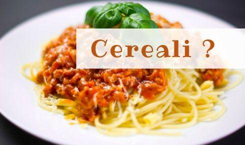 cereali nella dieta mediterranea