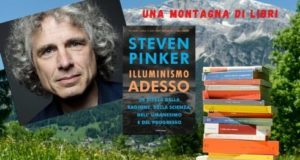 Steven Pinker libro una montagna di libri