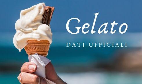 Dati ufficiale mercato gelato artigianale