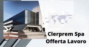 clerprem offerta lavoro ingegnere gestionale vicenza