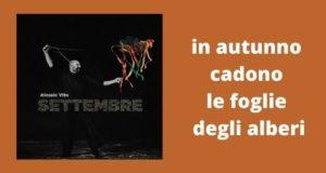 Alessio Vito Settembre Musica