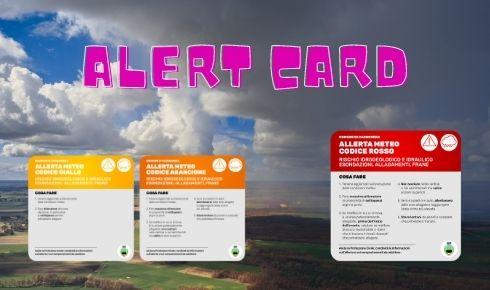 Alert Card Meteo