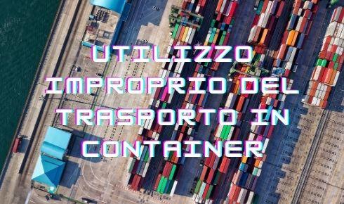 trasporto conteiner marittimo